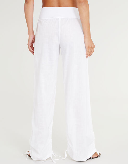 figleaves St Maxime Cotton Beach Pant