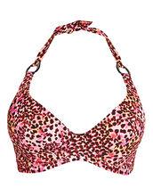 Wild Side Underwired Banded Halter Bikini Top