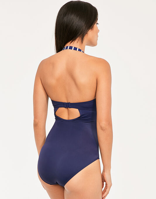 figleaves Tailor Underwired Tummy Control Swimsuit
