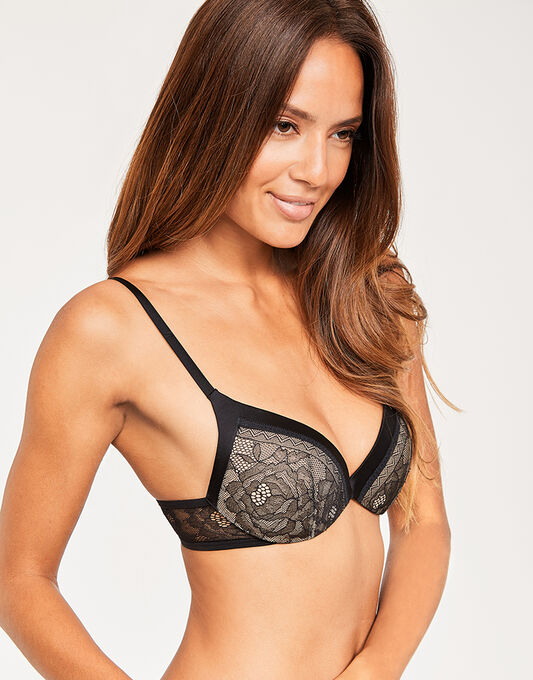 Calvin Klein CK Black Obsess Push Up Plunge
