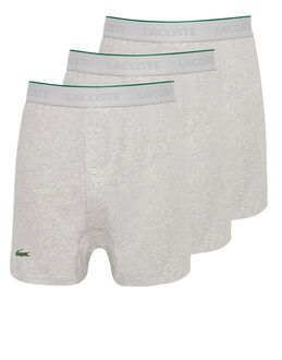 Lacoste 3 Pack Knit Loose Fit Boxer