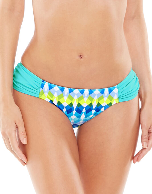 Lagoon Ruched Side Brief