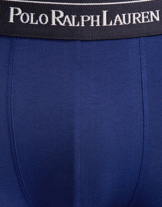 Stretch Cotton 3 Pack Polo Player Trunks