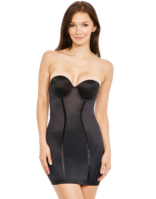Easy-Up Strapless Full Slip