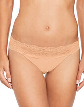 Microfibre And Lace 3 Pack Brazilian Brief