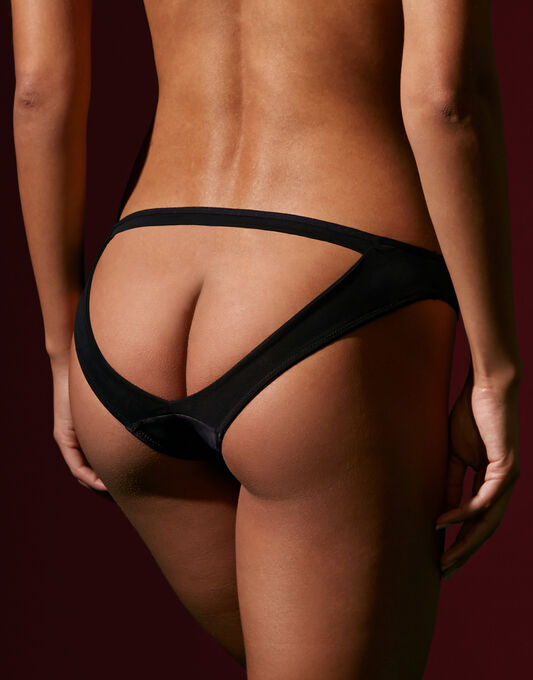 Scantilly by Curvy Kate Peek-a-boo Bare Face Cheek Brief