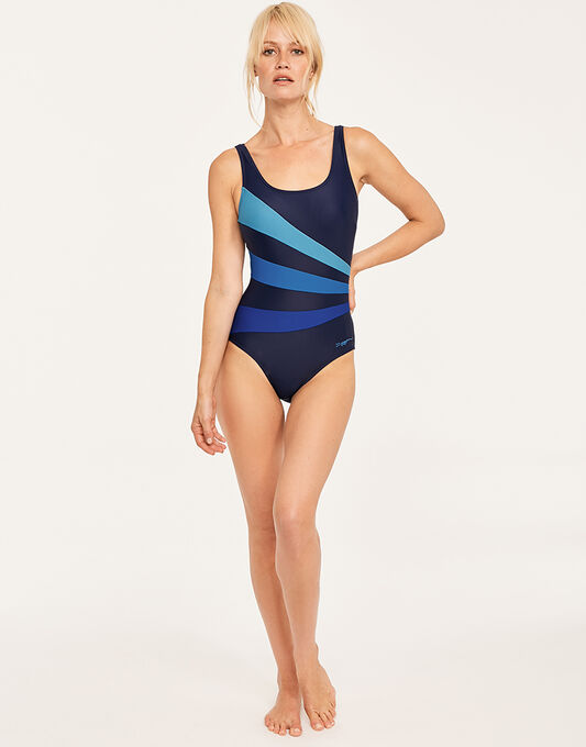 Zoggs Craftwork Sandon Scoopback Swimsuit