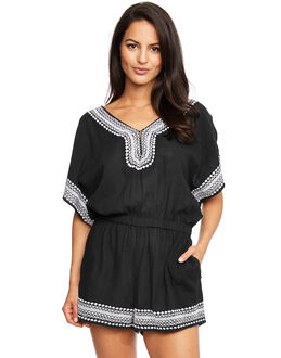 figleaves Mono Crochet Playsuit