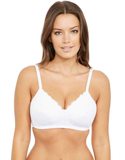 Perfect Support B-H Wirefree Lace Bra