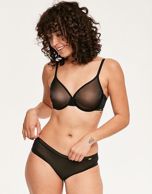 Glossies Sheer Bra