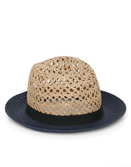 Helene Berman London New York Contrast Trim Hat