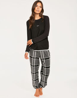 DKNY Fierce Chills Folded L/S Sleep Top & Pant Set