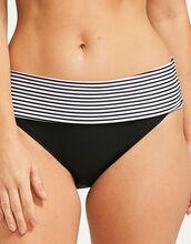 Anya Stripe Fold Bikini Brief
