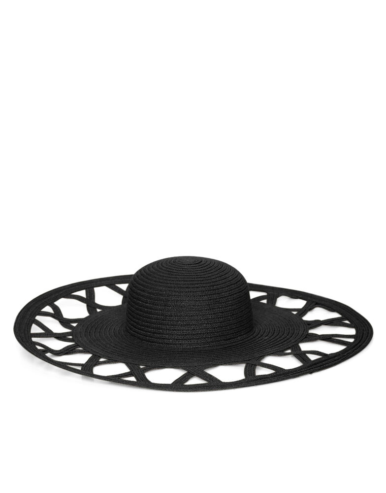 Cannes Cut Out Floppy Hat 1139081
