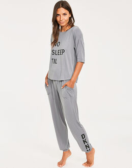 DKNY Never Sleeps 3/4 Slv Top & Jogger