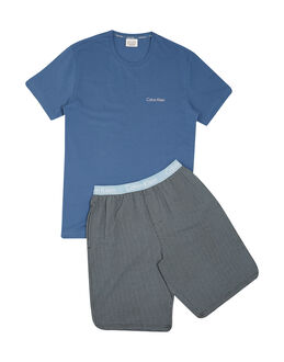 Calvin Klein Knitted Jersey Short PJ Set In A Box