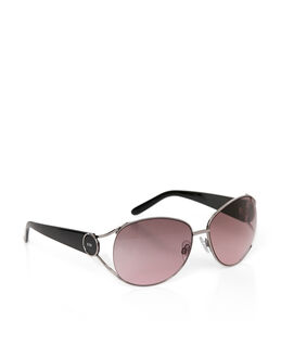 Karen Millen Glamour Large Metal Sunglasses
