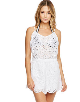 Seafolly Broderie Beach Playsuit