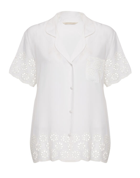 Cyberjammies Embroidered Woven Top