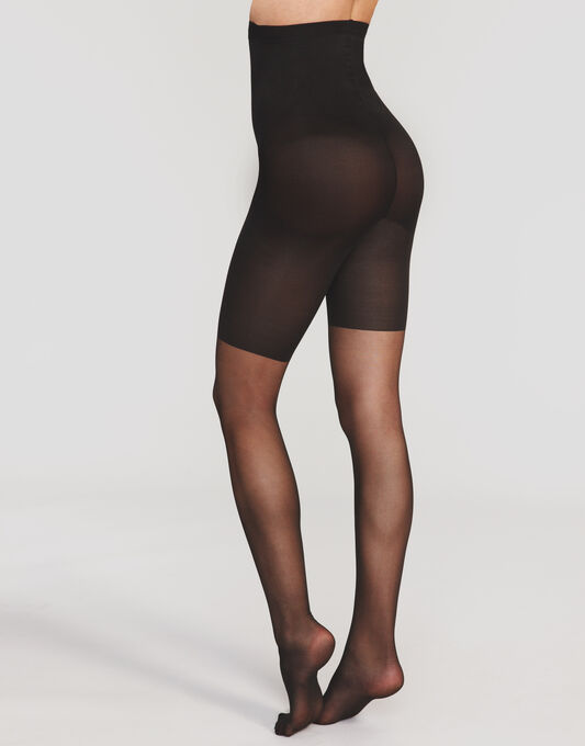 20 Denier In Power Line Super High-waist Shaping Sheer Tights