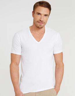 Calvin Klein CK One Cotton Stretch 2 Pack V-Neck T-Shirt