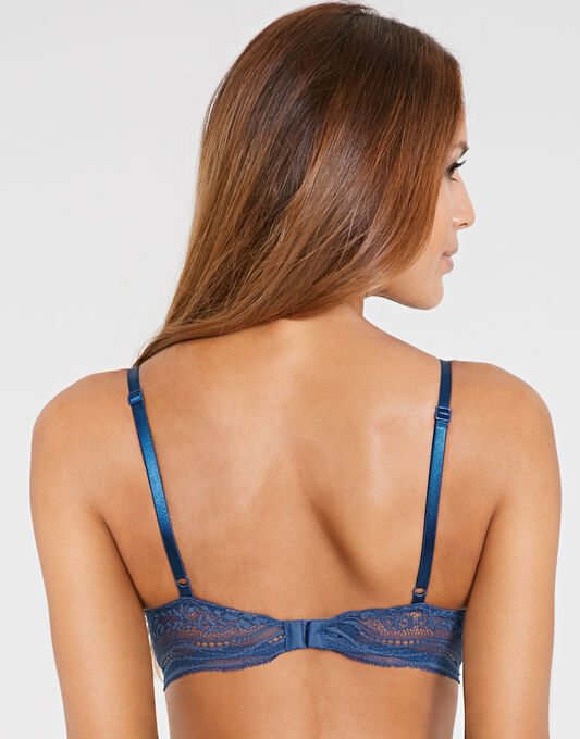 Calvin Klein Infinite Lace Convertible Provocative Plunge Bra