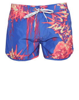 Diesel Reef Tropical Print Swim Short
