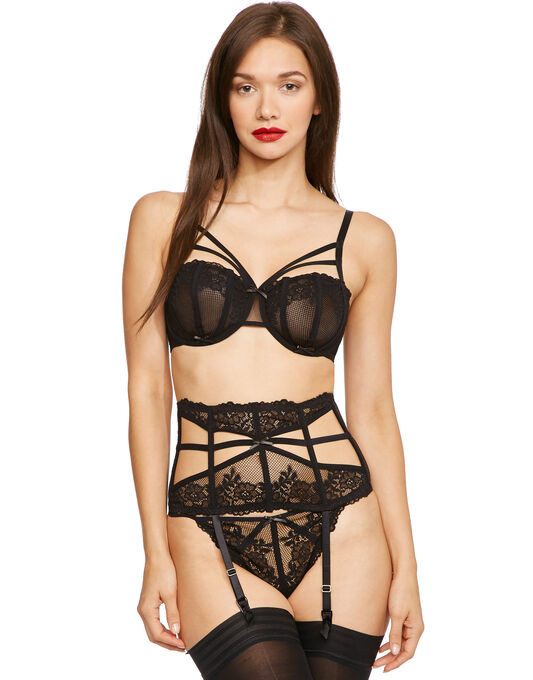 Strapped Underwire Bra