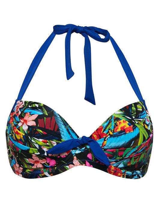 Pour Moi? Costa Rica Padded Halter Underwired Bikini Top