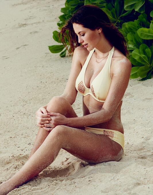 figleaves Priya Underwired Halter C-G Bikini Top