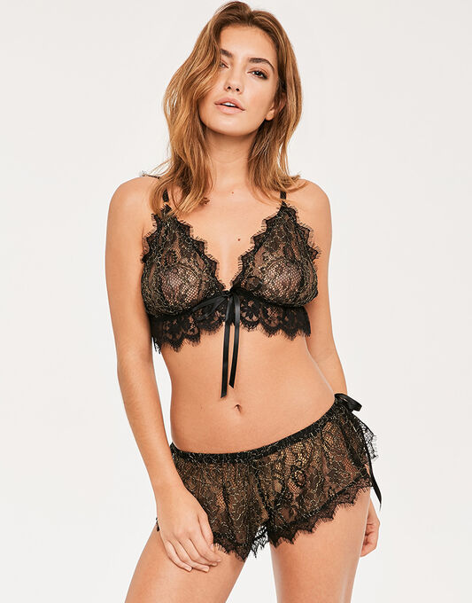 Entice Bralette & French Knicker Set