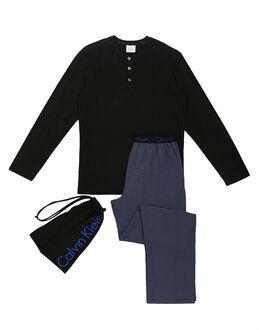 Calvin Klein Knitted Jersey Long PJ Set In a Bag