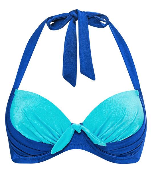 Pour Moi? Bahamas Padded Halter Bikini Top