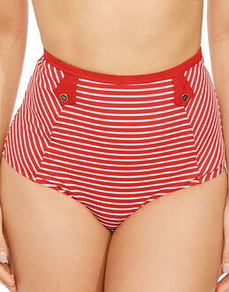 Panache Britt Stripe High Waist Brief