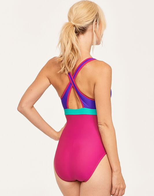 Zoggs Havana Poolside Wyomi X Back Swimsuit