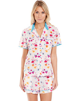 Cyberjammies Tropical Botanics Print Short PJ Set