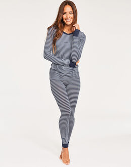 DKNY City Stripes Top & Legging Set