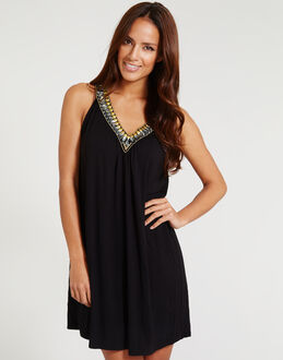 figleaves Marina Beach Embellished Dress