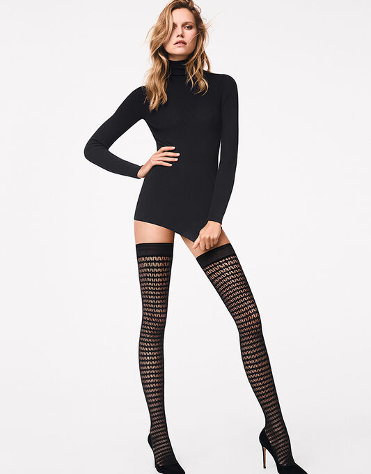 Wolford Mesh Stay Up