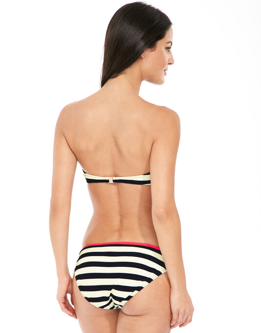 Ted Baker Navy Stripe Bikini Top
