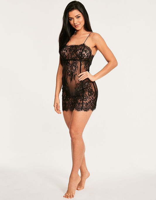 figleaves Gigi Galloon Lace Chemise