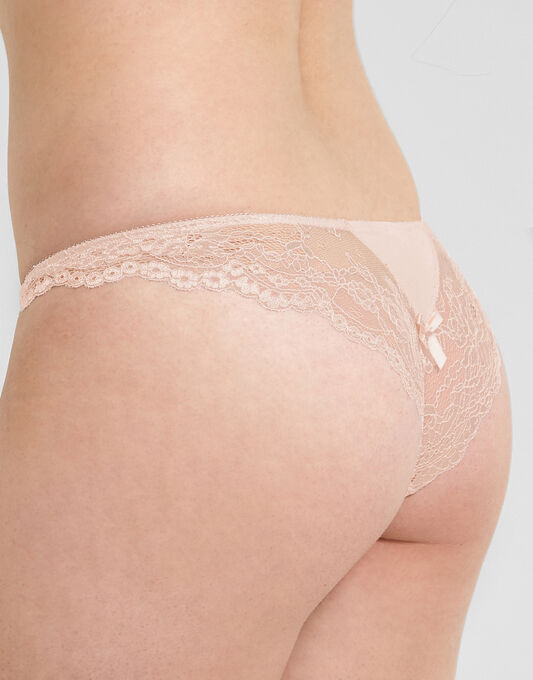 Pour Moi? Cherish Lace Back Brief