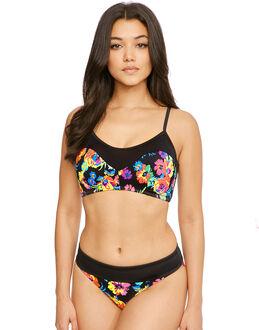 Pour Moi? Black Dahlia Half Pad Cami Bikini Top