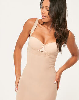 Spanx Shape My Day Open Bust Full Slip