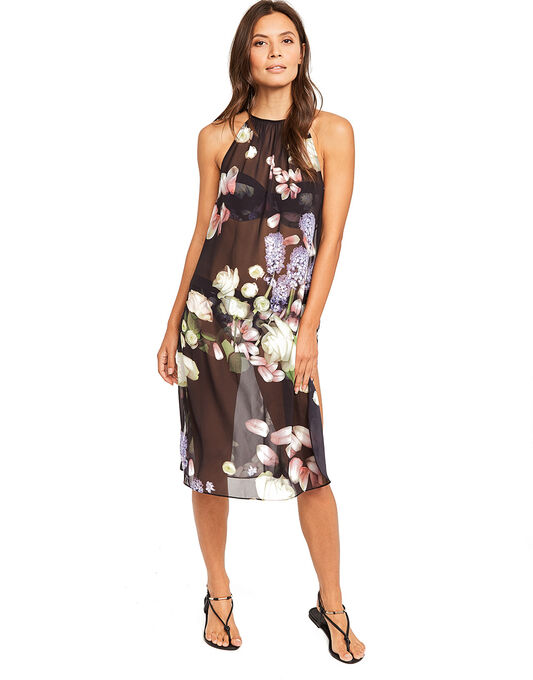 Kensington Floral Midi Dress