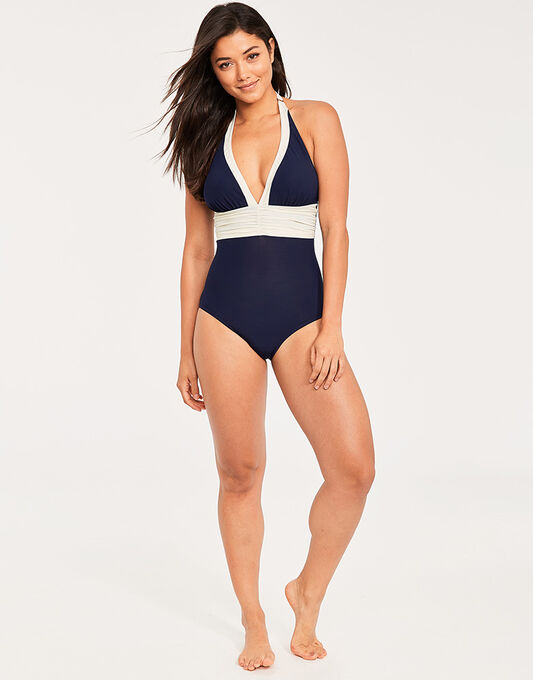 figleaves Edge Colourblock Shaping Swimsuit