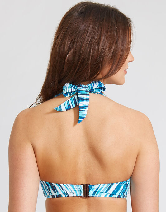 figleaves Jana Underwired Padded Bandeau DD+ Bikini Top