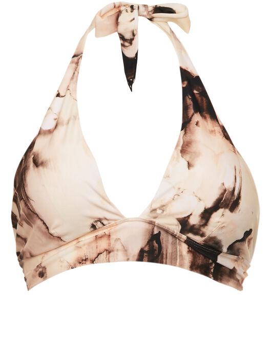 Aguaclara Bruma Rosa Missy Halter Bikini Top