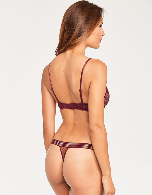 Calvin Klein Vixen Plunge Lightly Lined