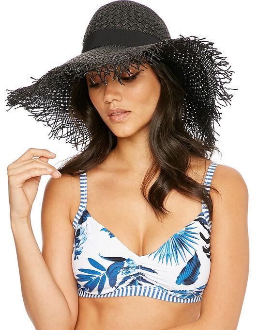 Seafolly Shady Lady Beach Comber Floppy Hat